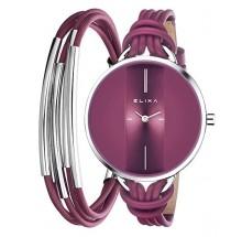 Elixa FINESSE Damenuhr + Armband E096-L367-K1
