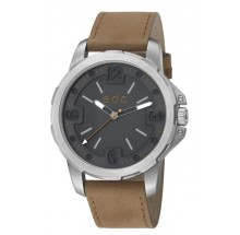 EDC by Esprit Herrenuhr bold scouter-grey, brown EE101371001