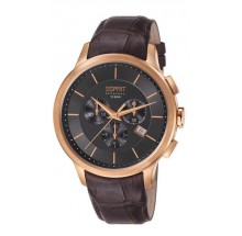 Esprit Collection Herrenuhr Crius Chrono Rose Gold Brown EL101961F04 Coll. 2013/2014