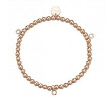 Esprit Armband Charms Charm Bracelet Spheres Rose ESBR11695B165