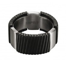 Esprit MEN Ring Flush Black ESRG11375A190