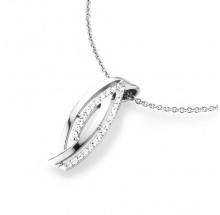 Damen Halskette mit Anhänger 925/- Silber 99009493450