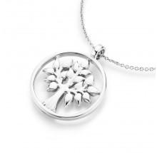 Damen Collier Lebensbaum 925/- Silber 99010793450