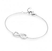 Damen Armband Infinity unendlich 92003593190