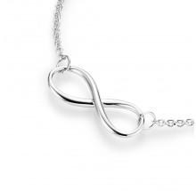 Damen Collier Infinity unendlich 925/- Silber 99011593450