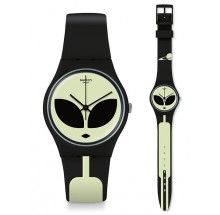 Swatch Telefon Maison Alien disclosure watch Uhr GB307