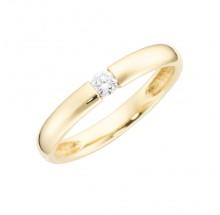 Damenring aus 375/- Gold Bandring 93011640580