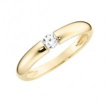 Damenring aus 375/- Gold Bandring 93011740580