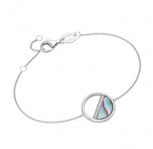 Giorgio Martello Damen Armband Coin Perlemutt 925/- Silber 205269190