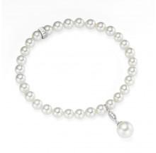 Giorgio Martello Damen Armband Perle 925/- Silber 204879