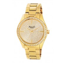 Kenneth Cole Classic Gold Yellow Tone Damenuhr KC4957