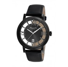 Kenneth Cole Transparency Dark Grey Gun Herrenuhr KC8012