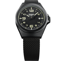 Traser H3 P59 Essential S Black Unisex Armbanduhr 108204