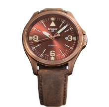 Traser H3 P67 Officer Pro Automatic Bronze Brown Herrenuhr 108073