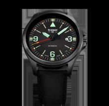 Traser H3 P67 Officer Pro Automatic Black Herrenuhr 108075