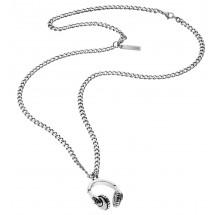 Police Herren Halskette Kopfhöhrer PJ25871PSS-01