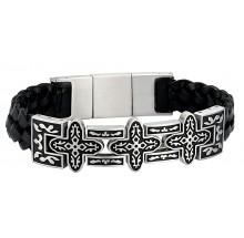 Police Bracelet Cross 1 Herrenarmband PJ26292BSS-01