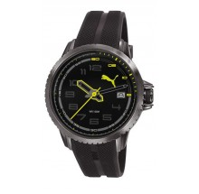Puma Uhr Turbine 3HD Black Lime PU103281003