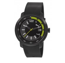 Puma Uhr Overdrive Black Lime PU103291001