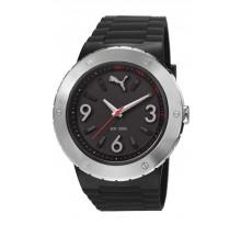 Puma Uhr Blast L Silver Black PU103331001