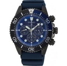 Seiko Quarz Chrono Herrenuhr Prospex Sea Diver Save the Ocean Solarbetrieb SSC701P1