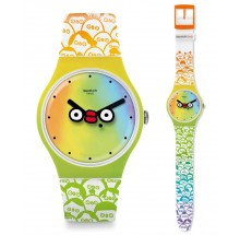 Swatch What'S Yo Face? Club Special Uhr SUOZ303