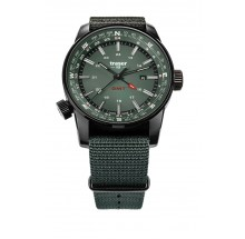 Traser H3 P68 Pathfinder GMT – Swiss Made grün green Herrenuhr 109035