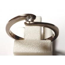 Weißgold Damen Brillantring 141118sol5