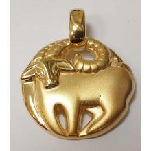 Goldener Anhänger Stier 065205sti