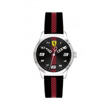 Scuderia Ferrari Pitlane Kinderuhr 0860002