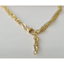 Damen Fußkette Gold 333/- Best. 85.49601-25cm