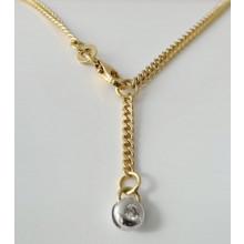Damen Fußkette Gold 333/- Best. 985.11601.70-25cm