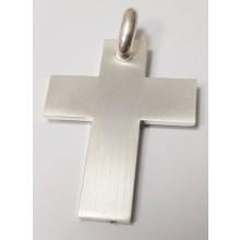 Herren Kreuz  Anhänger aus Silber 346-220341-200