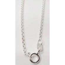 Collierkette Rundanker 925/- Sterlingsilber 1.0150-42cm