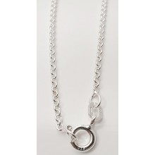Collierkette Rundanker 925/- Sterlingsilber 1.0150-45cm