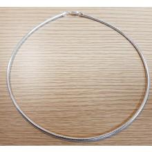 Damen Collier Halsreif Tonda 925/- Silber 14.44425-42cm