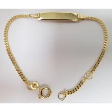 ID-Bändchen Gravur 333/- Gelbgold 5.56069-16cm