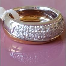 Damenring aus Gold mit Brillanten 22216