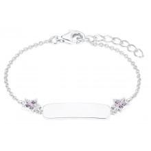 Prinzessin Lillifee Mädchen ID-Armband Stern Gravurband 2027217