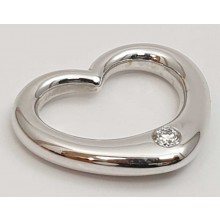 Herz Anhänger Weißgold 585/- Swinging Heart 31-03657-0
