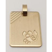 Sternzeichen Skorpion Anhänger aus Gold 333/-  - 06.1495.03-skor