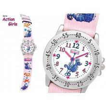 Scout Action Girls Kinderuhr für Mädchen Seepferdchen 280378057