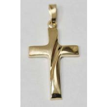 Goldenes Kreuz - Anhänger 333/- Gold  Best. 3246