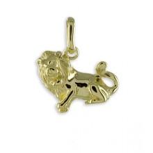 Goldener Anhänger Sternzeichen Löwe 3561LI