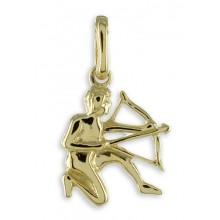 Goldener Anhänger Sternzeichen Schütze 3561SC