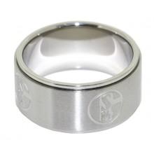 FC Schalke 04 Ring Emblem S04 Gr. 56 9-14161-56 69400179