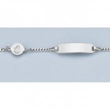 ID-Bändchen Gravur Engel Silber 925/- 5.56059-98-16cm