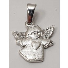 Anhänger Engel Schutzengel 925/- Silber 207-41837-11-000-24