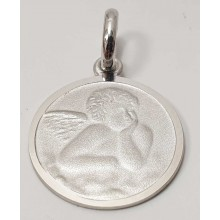 Anhänger Gravurplatte Engel Schutzengel 925/- Silber 346-203696-298