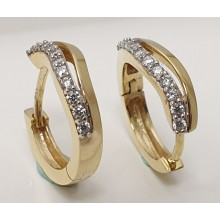 Damen Creole aus 333/- Gold 346-225400.300